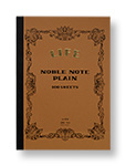 Noble Note A4  Plain  [N34]