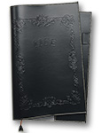 LIFE Noble Note Cover A4 Black  [NC1]