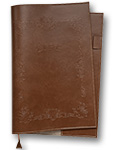 LIFE Noble Note Cover A4 Brown  [NC2]